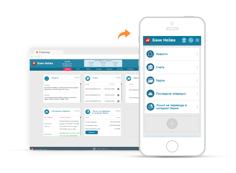 Нейва онлайн банк екатеринбург